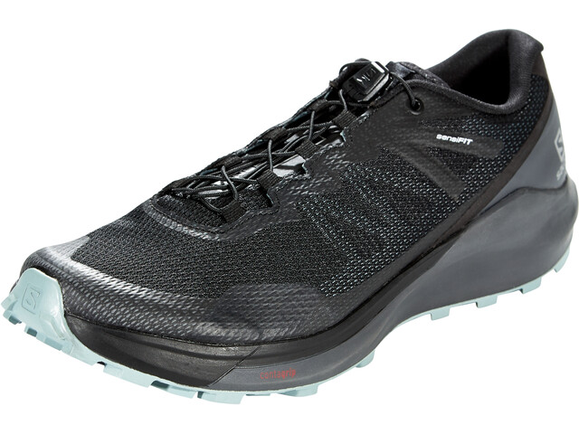 Salomon Sense Ride 3 Shoes Men, black/ebony/lead